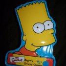 2001 SIMPSONS Bart's Trivia Card Game Tin Metal Box