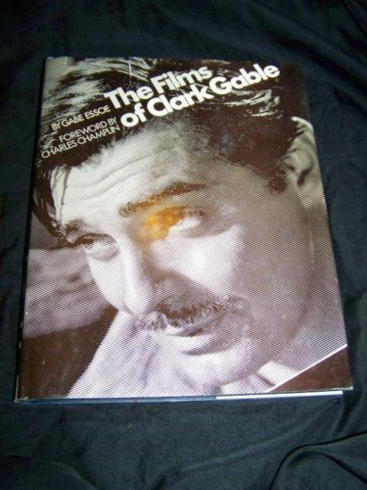 FILMS OF CLARK GABLE Gabe Essoe Citadel HC/DJ Movie Book