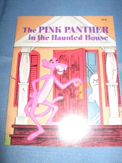 1975 PINK PANTHER IN HAUNTED HOUSE Kennon Graham Book