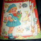 Vintage 1945 DOT BOOK COLOR PICTURES Coloring Saalfield