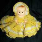 """Vintage Ideal Hard Plastic 8"""" Googly Eye Jointed Doll"""