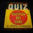 Vintage 1939 QUIZ Question Answer Bee Game Whitman 3933