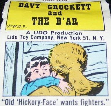 Vintage Lido DAVY CROCKETT Television film Reel Lot 3