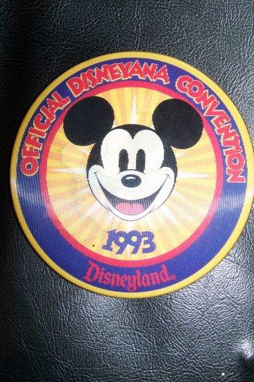 93 2nd Disney Disneyana Convention MICKEY MOUSE Flicker Badge
