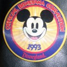 93 2nd Disney Disneyana Convention MICKEY MOUSE Flicker Badge
