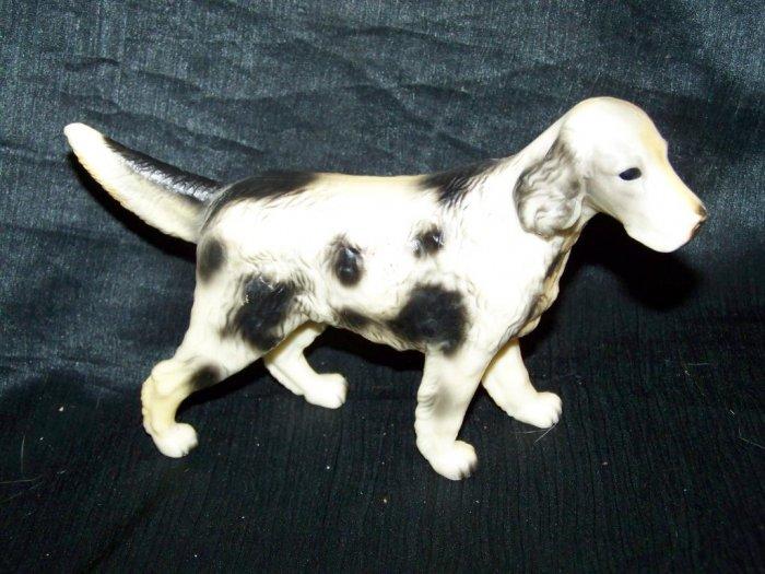 Vintage Hard Plastic English Setter HUNTING DOG Figure