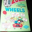 Vintage ZOOM TRAVEL CARD GAME Warren Built-Rite
