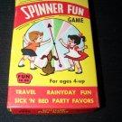 Vintage 1960s SPINNER FUN Card Game Warren Built-Rite