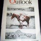 Vintage OUTLOOK Magazine Oct 19 1921 THEODORE ROOSEVELT