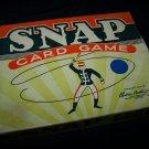 Vintage 1954 SNAP Card Game Parker Brothers COMPLETE