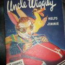 Vintage UNCLE WIGGILY HELPS JIMMIE Howard Garris Book Illustrated by Mary and Wallace Stover