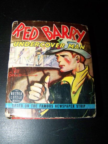 Vintage 1939 RED BARRY UNDERCOVER MAN by Will Gould Big Little Book