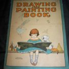 Antique DRAWING PAINTING BOOK McLoughlin Brothers Childrens