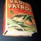 Vintage 1937 RADIO PATROL TRAILING SAFEBLOWERS Big Little Book