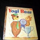 Vintage 1960 YOGI BEAR 1st Ed Little Golden Book