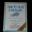 New Mint Vintage How to Host a Murder: The Chicago Caper Game
