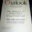 Vintage OUTLOOK Magazine Jan 23 1918 Democracy