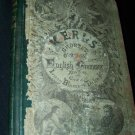 Antique Kerl's Shorter Course in English Grammar Book