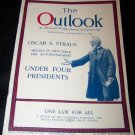Vintage OUTLOOK Magazine Sept 6 1922 OSCAR S STRAUS Bio