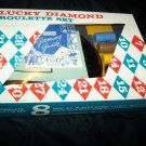Vintage 1960s Lucky Diamond Casino ROULETTE SET Game Toy