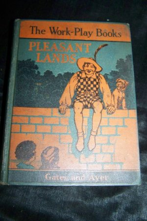 Vintage 1932 Work-Play Book PLEASANT LANDS Fifth Reader