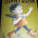 Vintage 1964 GIANT JOHN Arnold Lobel Illustrated Childrens Book