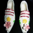 Vintage 1950s-1960s Ceramic China High Heel Shoe Lot Japan