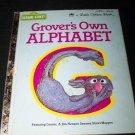 Vintage Grover's Own Alphabet 1978 Little Golden Book