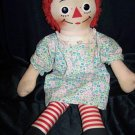 "Vintage 1960s RAGGEDY ANN 19"" Knickerbocker Rag Doll"