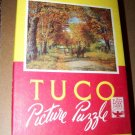 Vintage 1940s-1950s TUCO~Autumn Gold Seasons~Picture Puzzle
