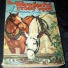 Vintage THE WONDERFUL STORY BOOK 386pg Saalfield Children's PB Book #461