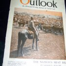 Vintage OUTLOOK Magazine Feb 9 1921 MEAT CATTLE~Lincoln