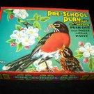 Vintage PRE-SCHOOL PLAY Push Paste Saalfield Book Lot