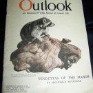 Vintage OUTLOOK Magazine March 9 1921 MARSH ANIMALS