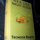 Vintage 1929 Airplane Book REX LEE NIGHT FLYER Thomson Burtis