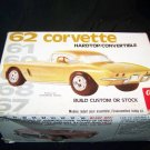 Vintage 1962 CORVETTE Convertible Lesney AMT Model Kit