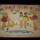 Vintage 1935 THE FIRST STORY BOOK Whitman Comic #614