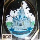 Vintage 1970s WALT DISNEY WORLD Glass Candy Dish Mint Box