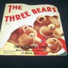 Vintage 1950 3 THREE BEARS PB Book Samuel Lowe 513-5