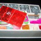Vintage 1965 CREEPLE PEEPLE Creepy People Mattel Monster Thingmaker Metal Mold Set