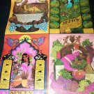 Vintage 1970s TAROT Card POSTER Morgan-Greer, Bill Greer HERBS SPICES