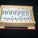 DOMINOES Woodfield Collection Cardinal Game 2001 New in Box