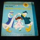 Vintage Walt Disney's MOTHER GOOSE RHYMES 45 Disneyland Little Gem Record