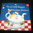 Vintage I'M A LITTLE TEAPOT and REUBEN Cricket 45 C149 Record