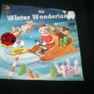 Vintage WINTER WONDERLAND Christmas Cricket 45 Record