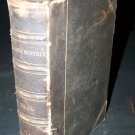 Antique ATLANTIC MONTHLY LX #60 1887 Leather Book