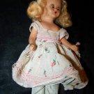"Vintage 1950s Hard Plastic NANCY ANN Storybook 6.25"" Blonde Doll"