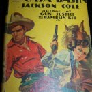 Vintage 1934 The Outlaws of Caja Basin by Jackson Cole HC/DJ Book