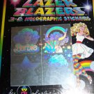Vintage BARBIE Lazer Blazers 3-D Holographic Stickers