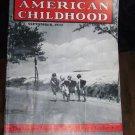 Vintage AMERICAN CHILDHOOD Magazine 1942 School Walk